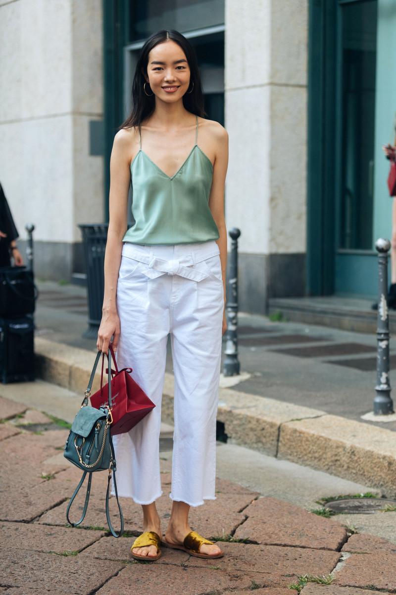Fei Fei Sun Milan Fashion Week September 2018 Getty Images