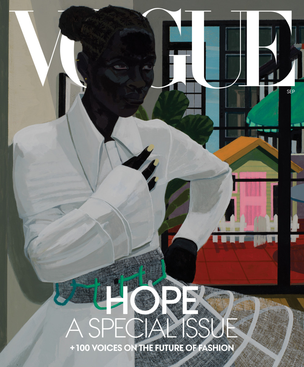 Portrait by Kerry James Marshall.