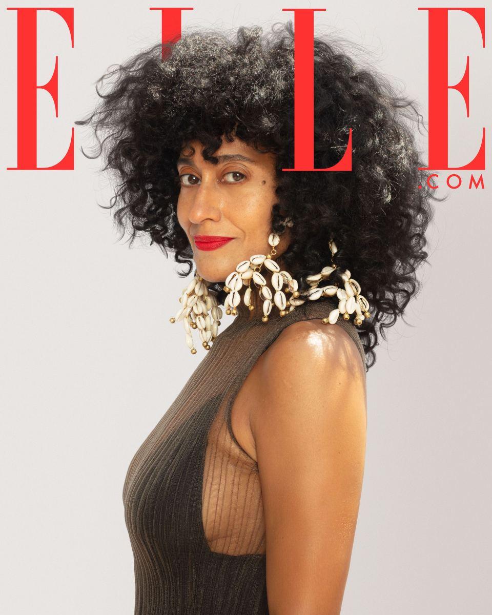 Tracee Ellis Ross for Elle.com.