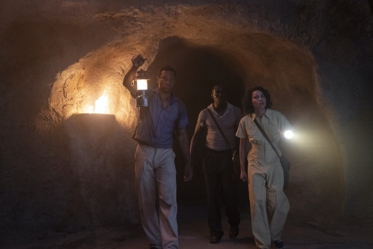 Tic, Montrose (Michael Kenneth Williams) and Leti in search of their holy grail.