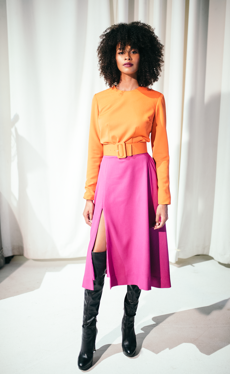 A look from Kristian Lorén's latest collection