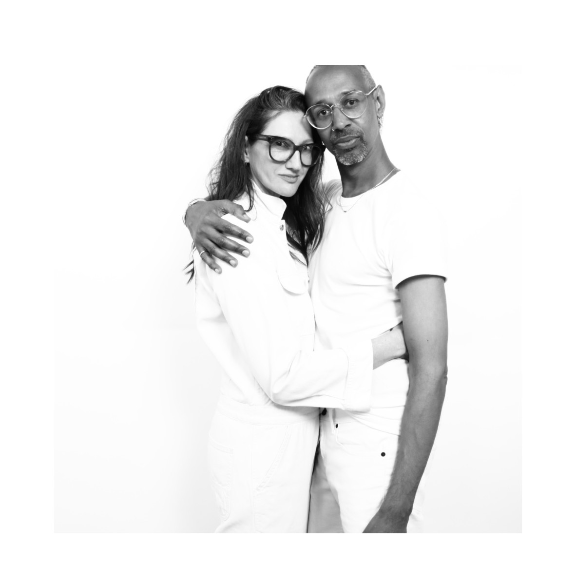 Jenna Lyons and Troi Ollivierre
