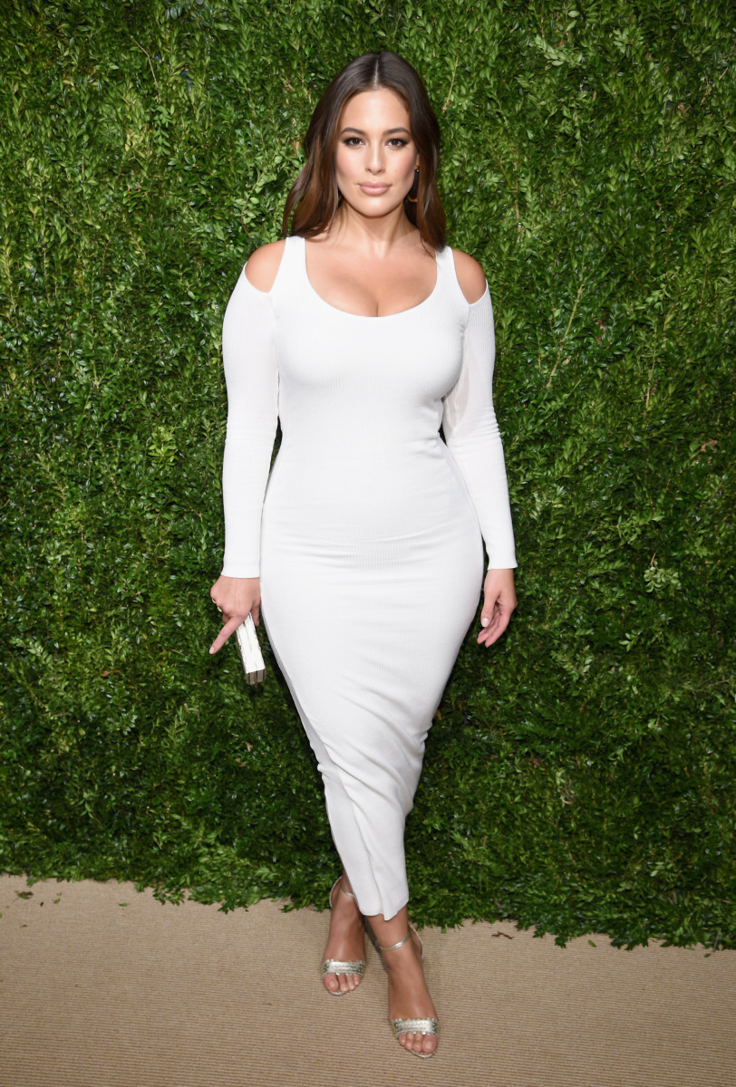 Ashley Graham Victor Glemaud CFDA Vogue Fashion Fund
