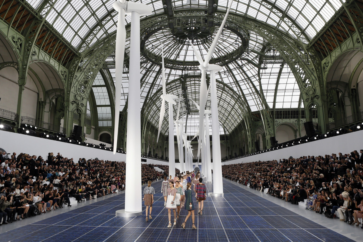 Chanel's Spring 2013 show.