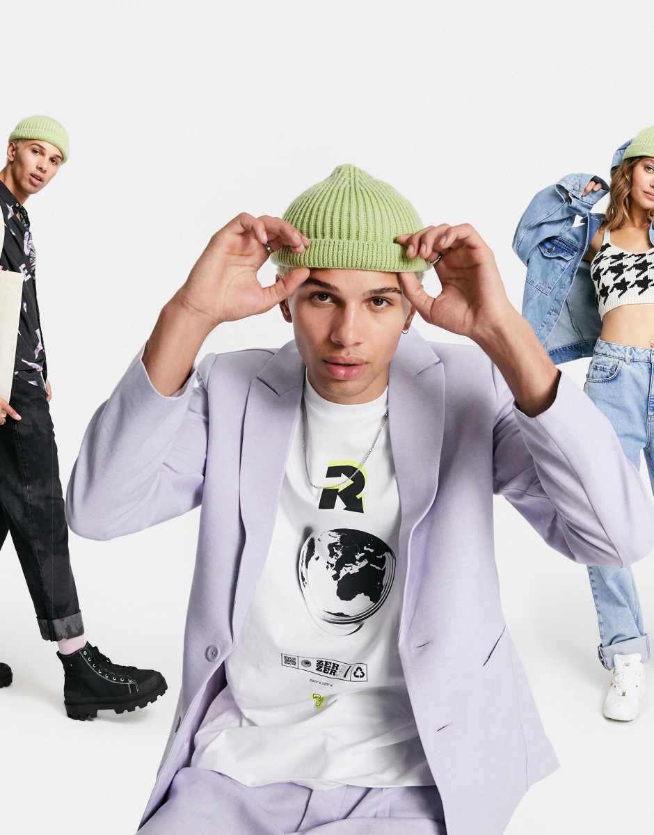 """Promotional imagery for Asos's new """"circular"""" collection."""