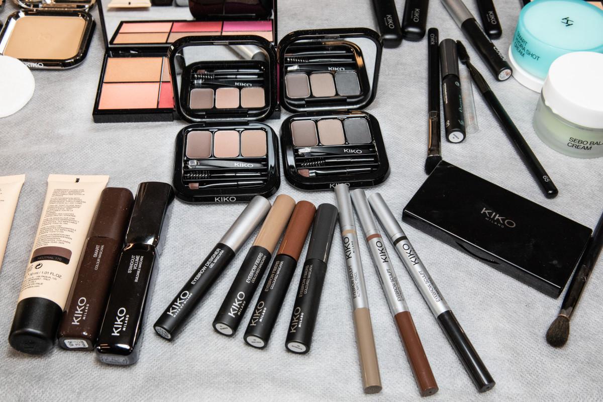 Kiko Milano products.