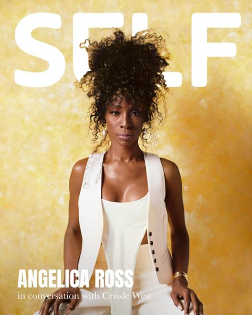 """Angelica Ross on the October 2020 cover of """"Self."""""""