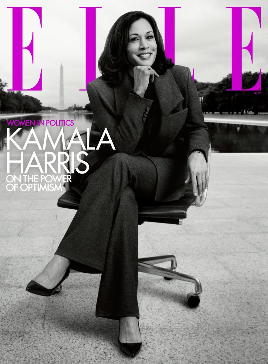 kamala harris ELLE November 2020 Cover