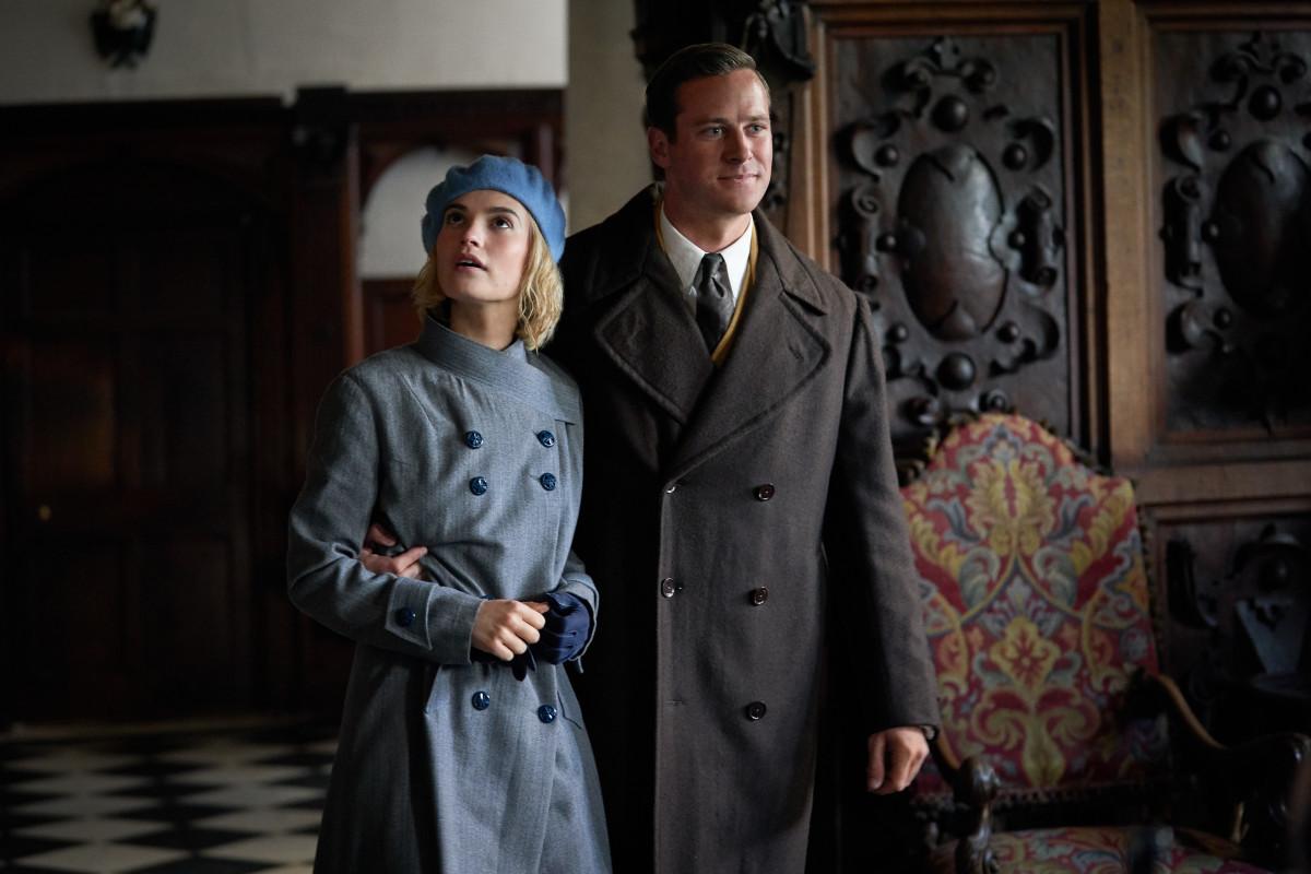 Mrs. and Mr. de Winter arrive at Manderley.