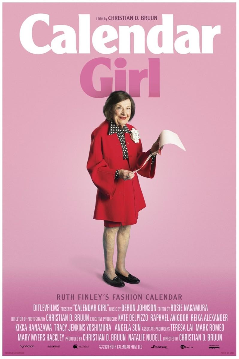 calendar girl ruth finley poster