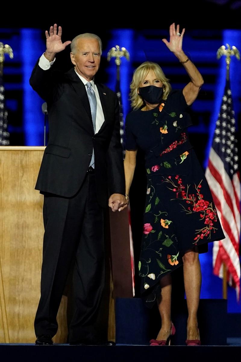President-Elect Joe Biden and Dr Jill Biden 2020
