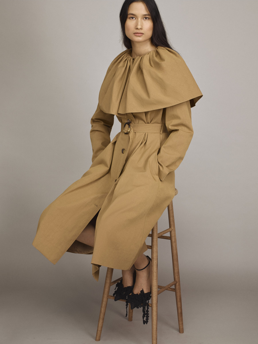 A look from Rebecca Taylor Spring 2021.