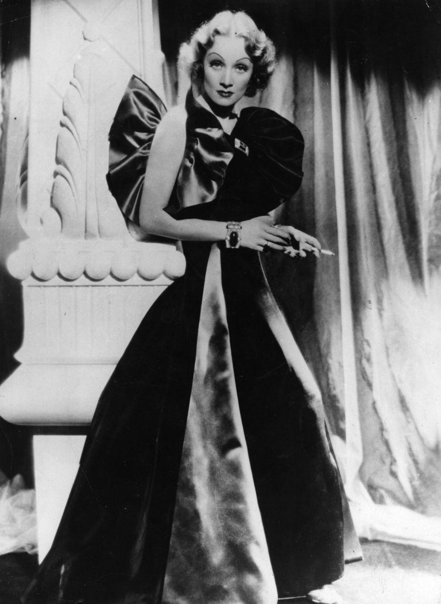 """Marlene Dietrich in """"The Devil is a Woman"""" in 1935."""
