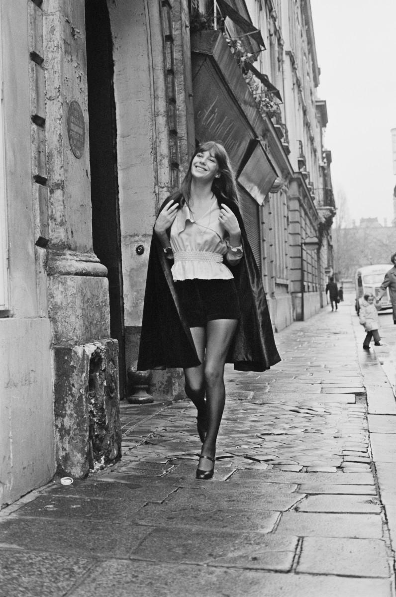 Jane Birkin in January 1971