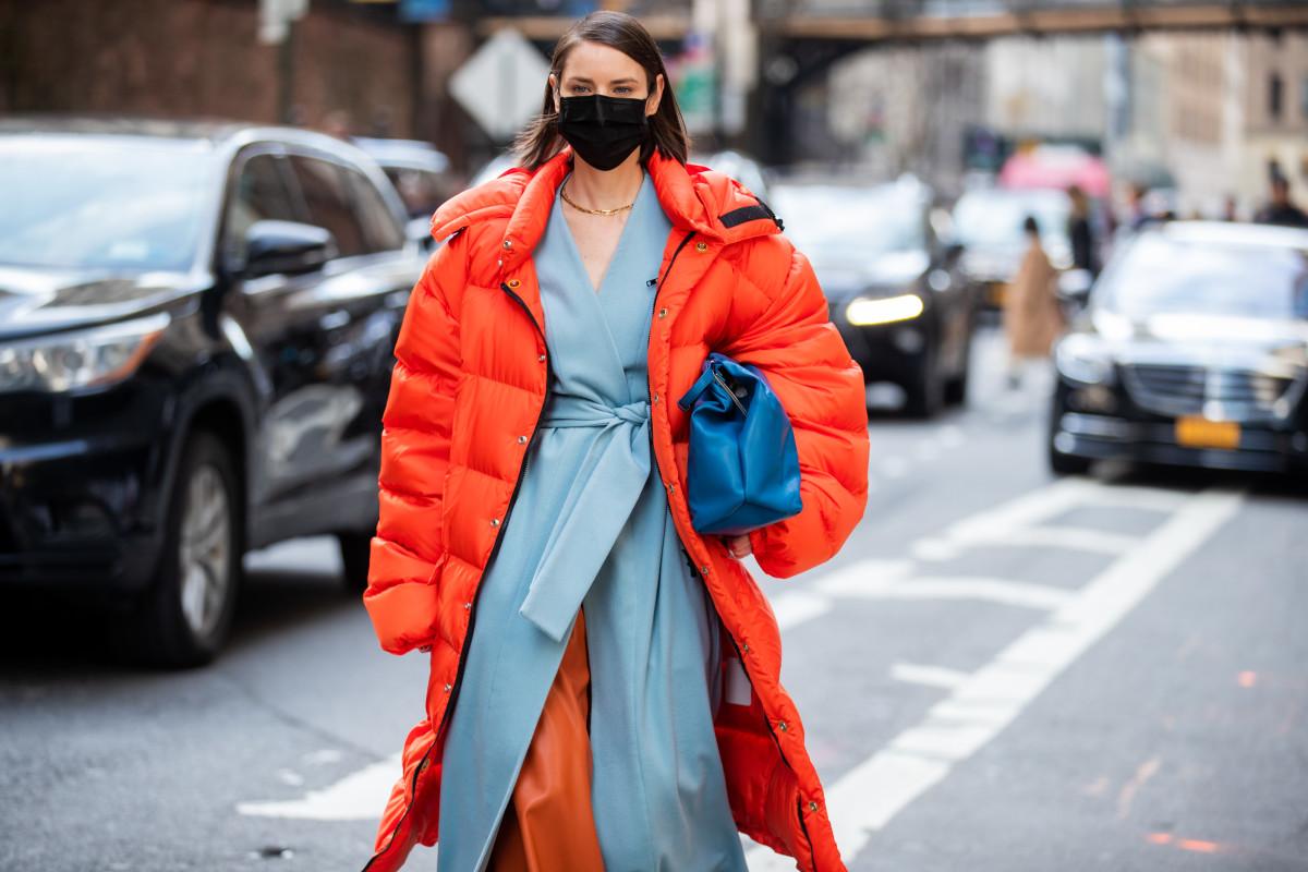 Puffer Jacket New York Fashion Week February 2020 Street Style
