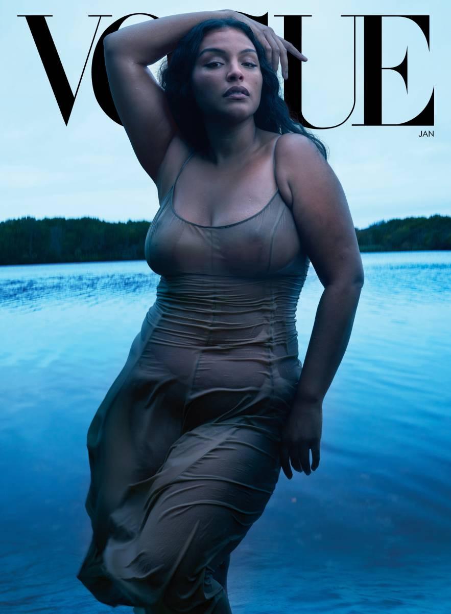 Paloma Elsesser for Vogue.