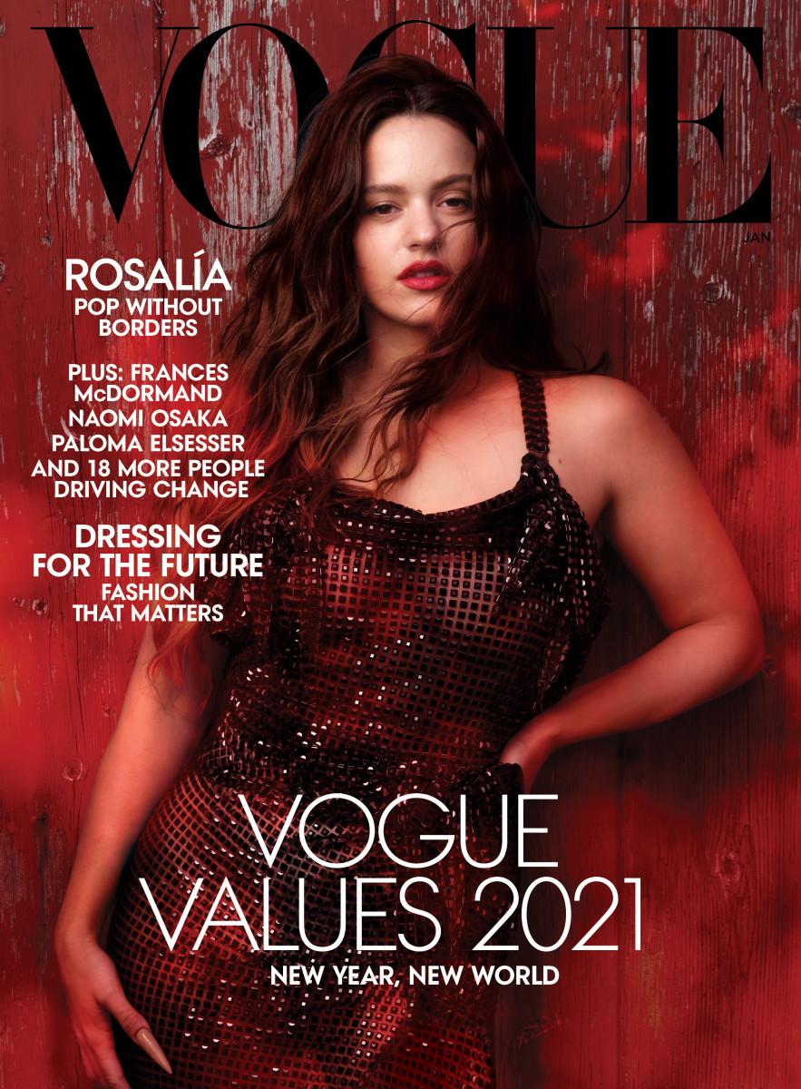 Rosalía for Vogue.