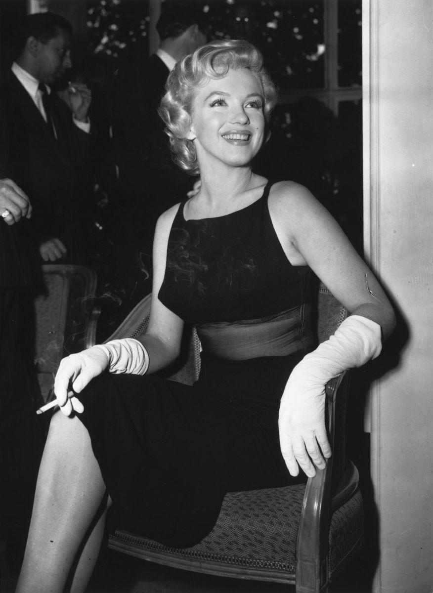 Marilyn Monroe in 1956.