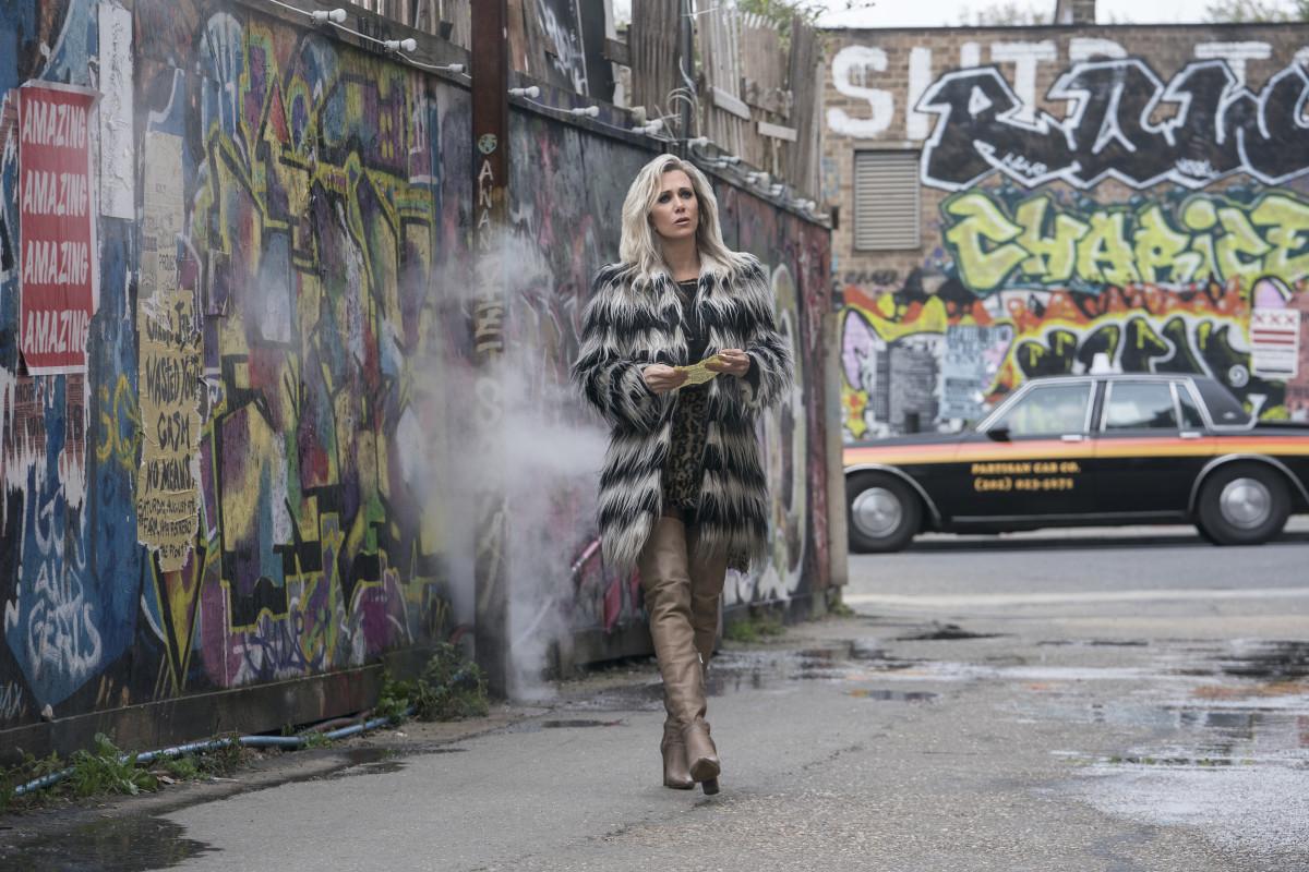 Barbara in mid-Cheetah mode and Gina boots.