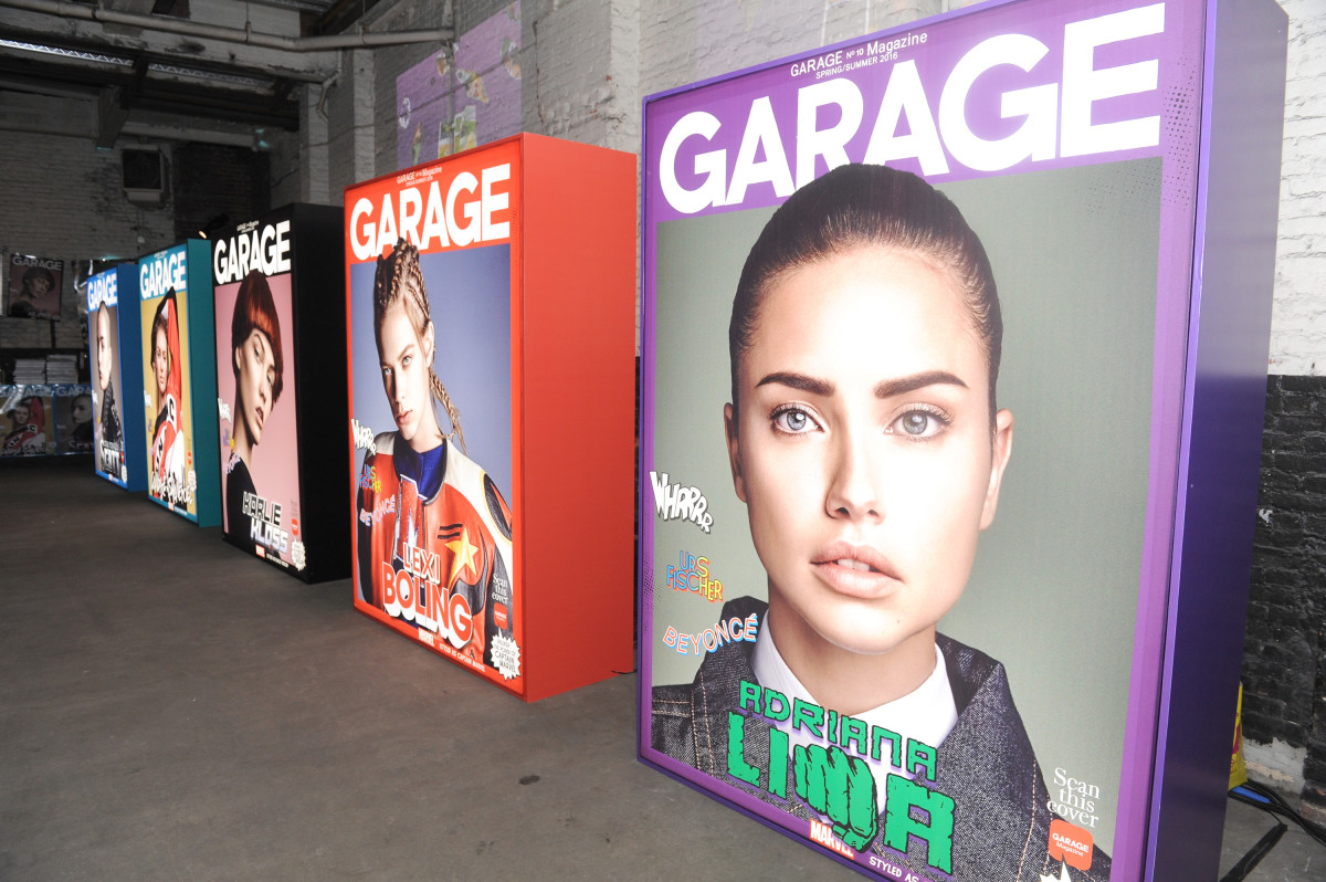 garage magazine not publishing under vice shut down