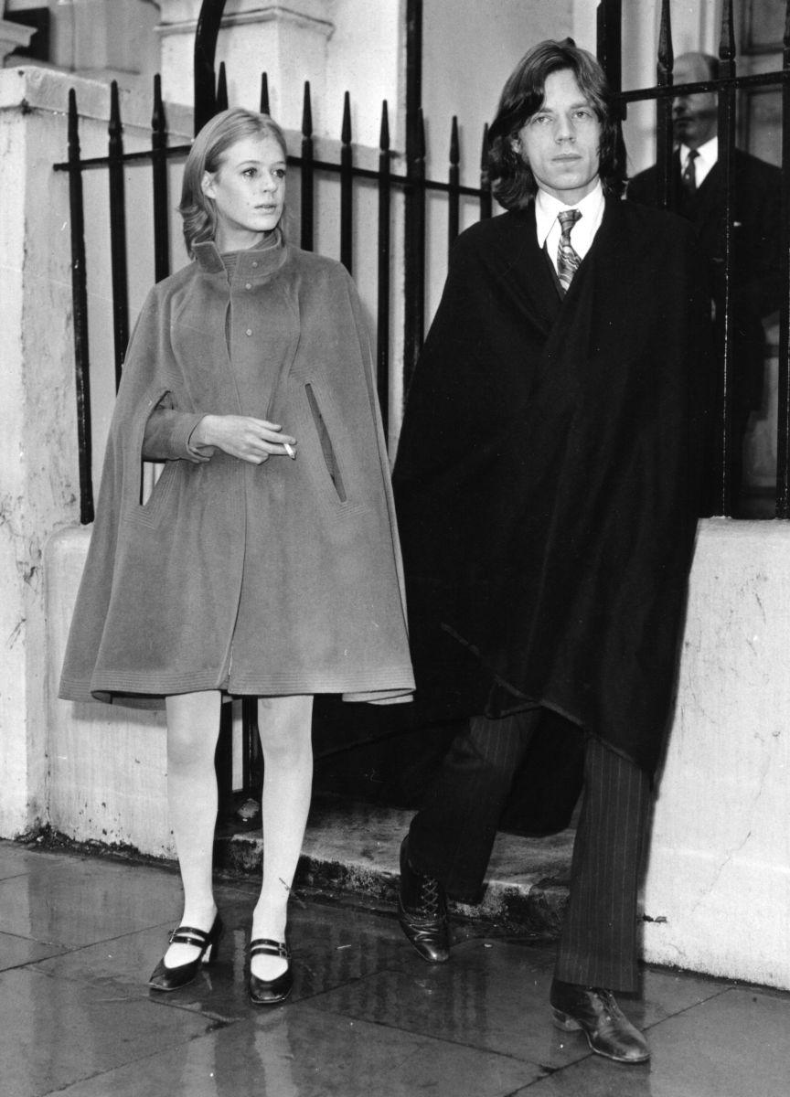marianne faithfull mick jagger 1969