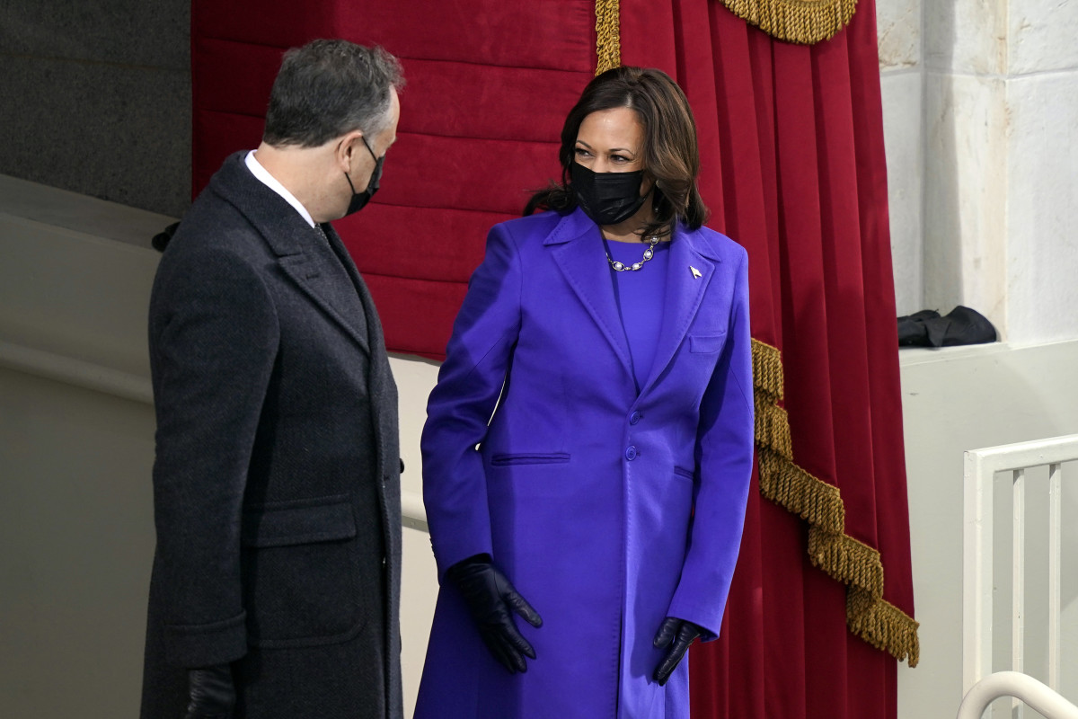 Kamala Harris at the 46th presidential inauguration
