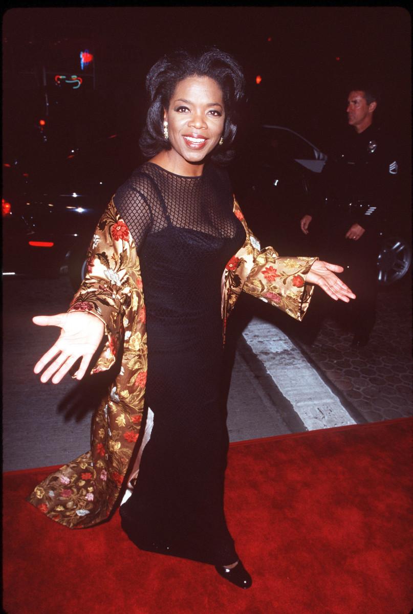 Oprah Winfrey in 1998.