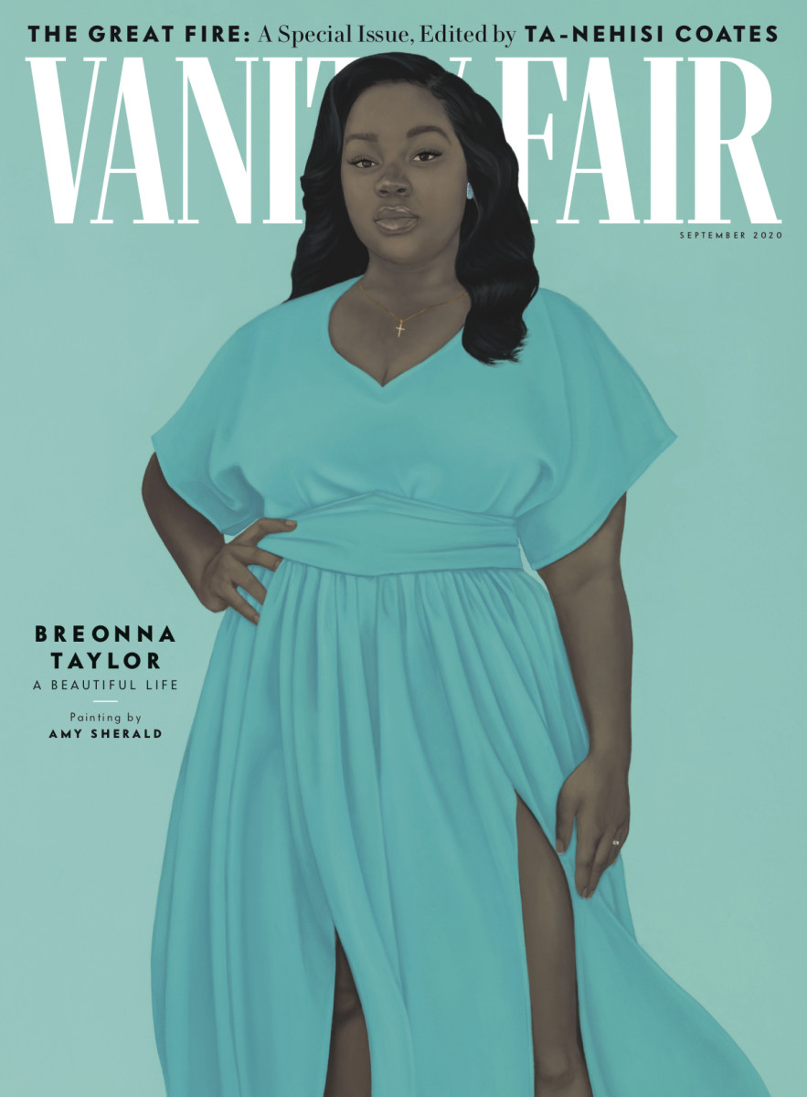 Vanity Fair_September Issue Cover_Credit: Amy Sherald