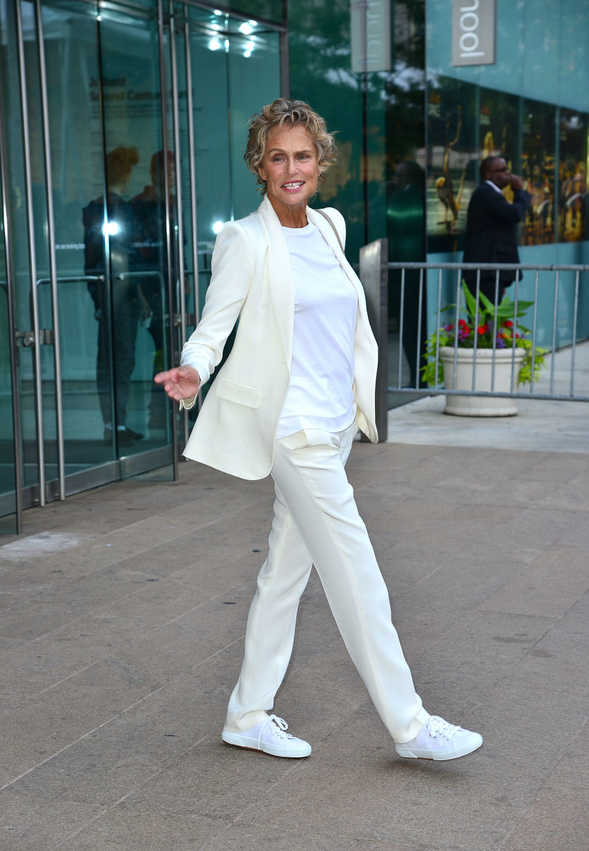 Lauren Hutton in The Row at the 2012 CFDA Fashion Awards.