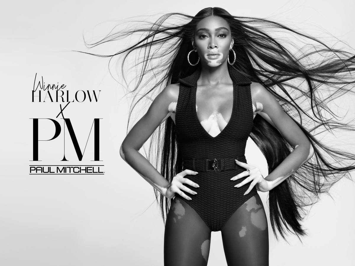 winnie harlow paul mitchell Courtesy of Micaiah Carter