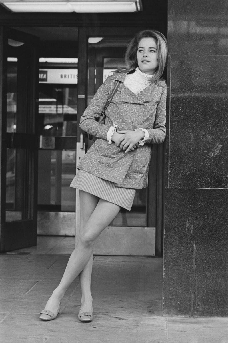 Charlotte Rampling in 1968.