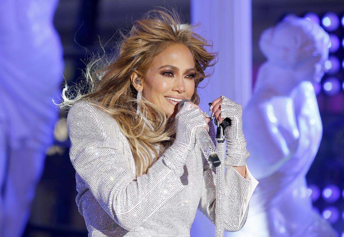 Jennifer Lopez 2021 Times Square New Year's Eve Celebration