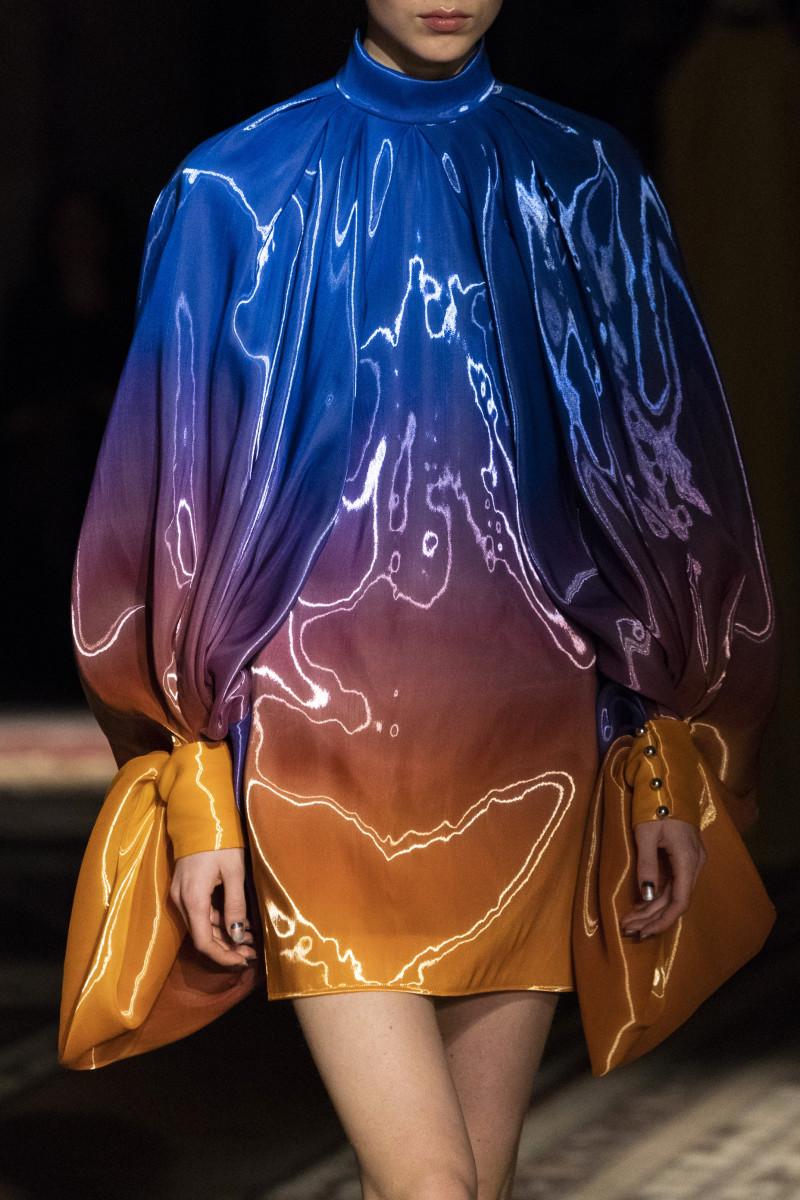 A closer look at Halpern's Fall 2019 fabrics.