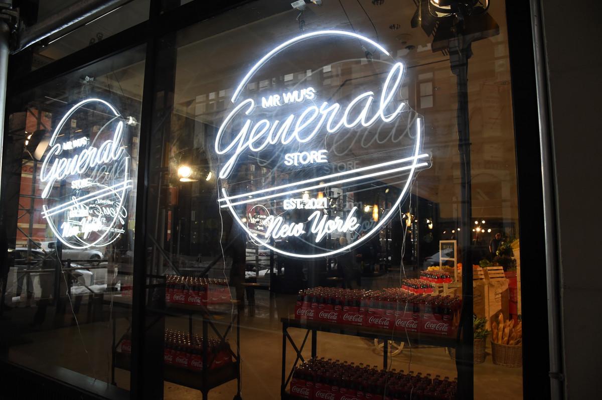 Jason Wu Fall 2021 General Store Sign
