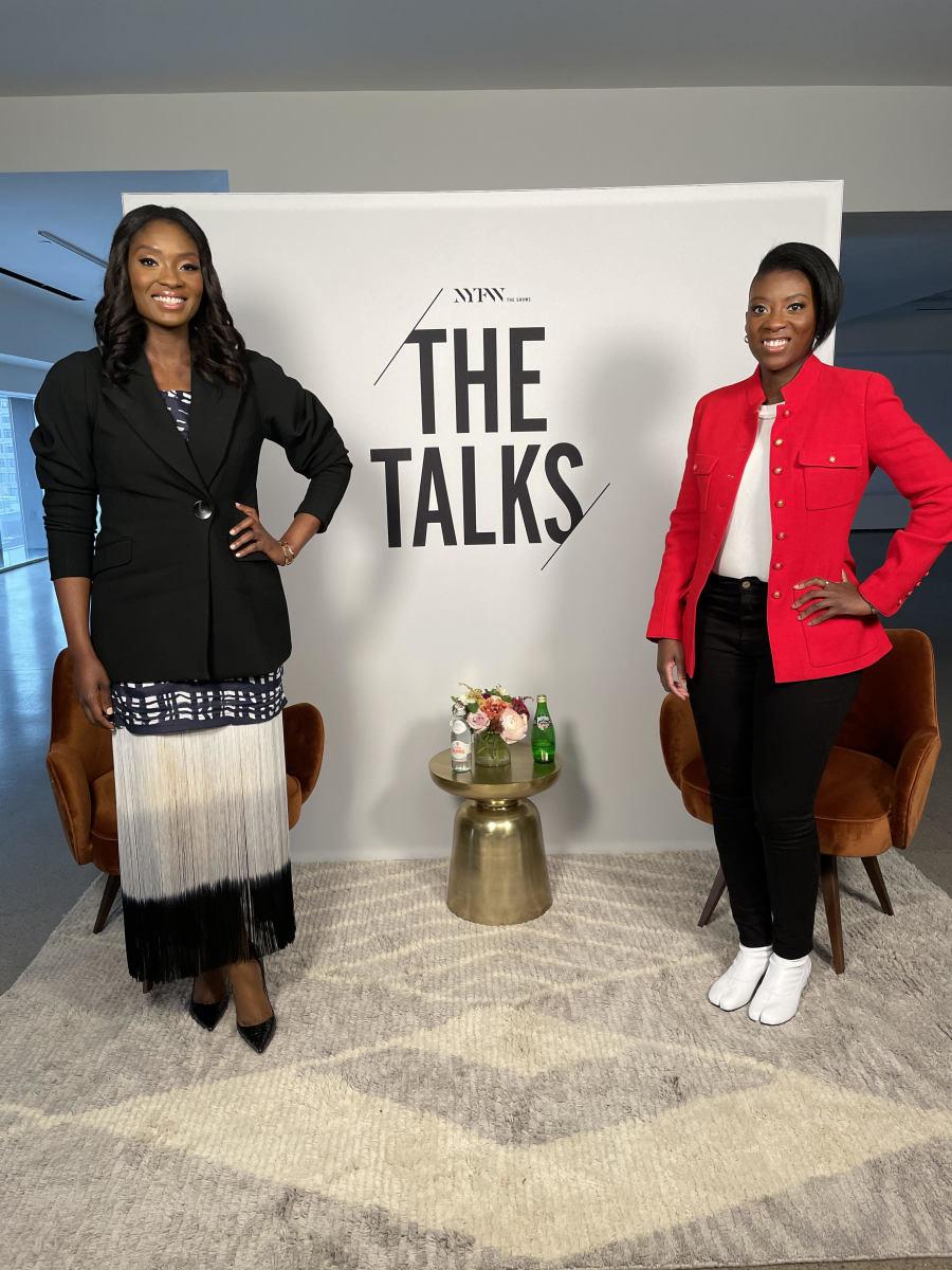 Lola and Nikki Ogunnaike.