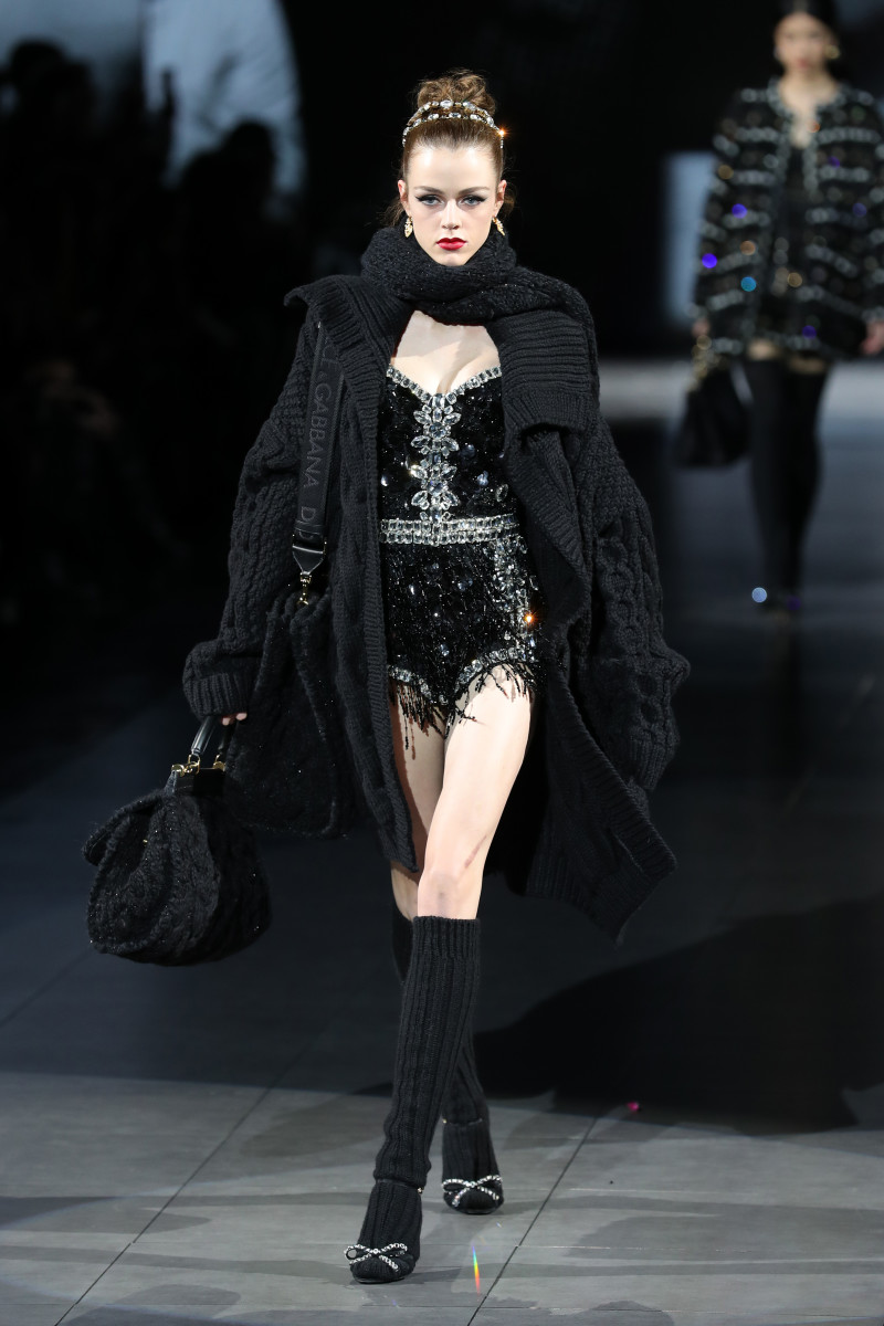 A look from the Dolce & Gabbana Fall 2020 show.