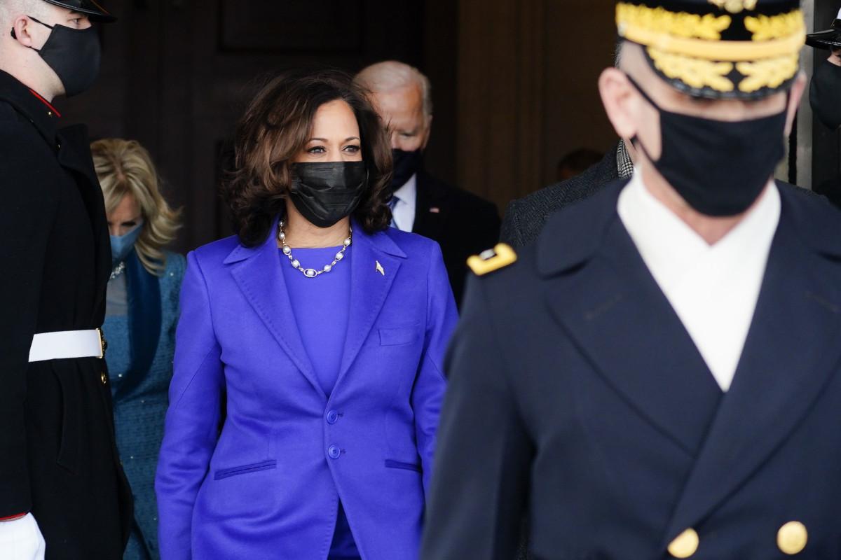 Vice President Kamala D. Harris, after the inauguration of President Joe Biden on January 20, 2021