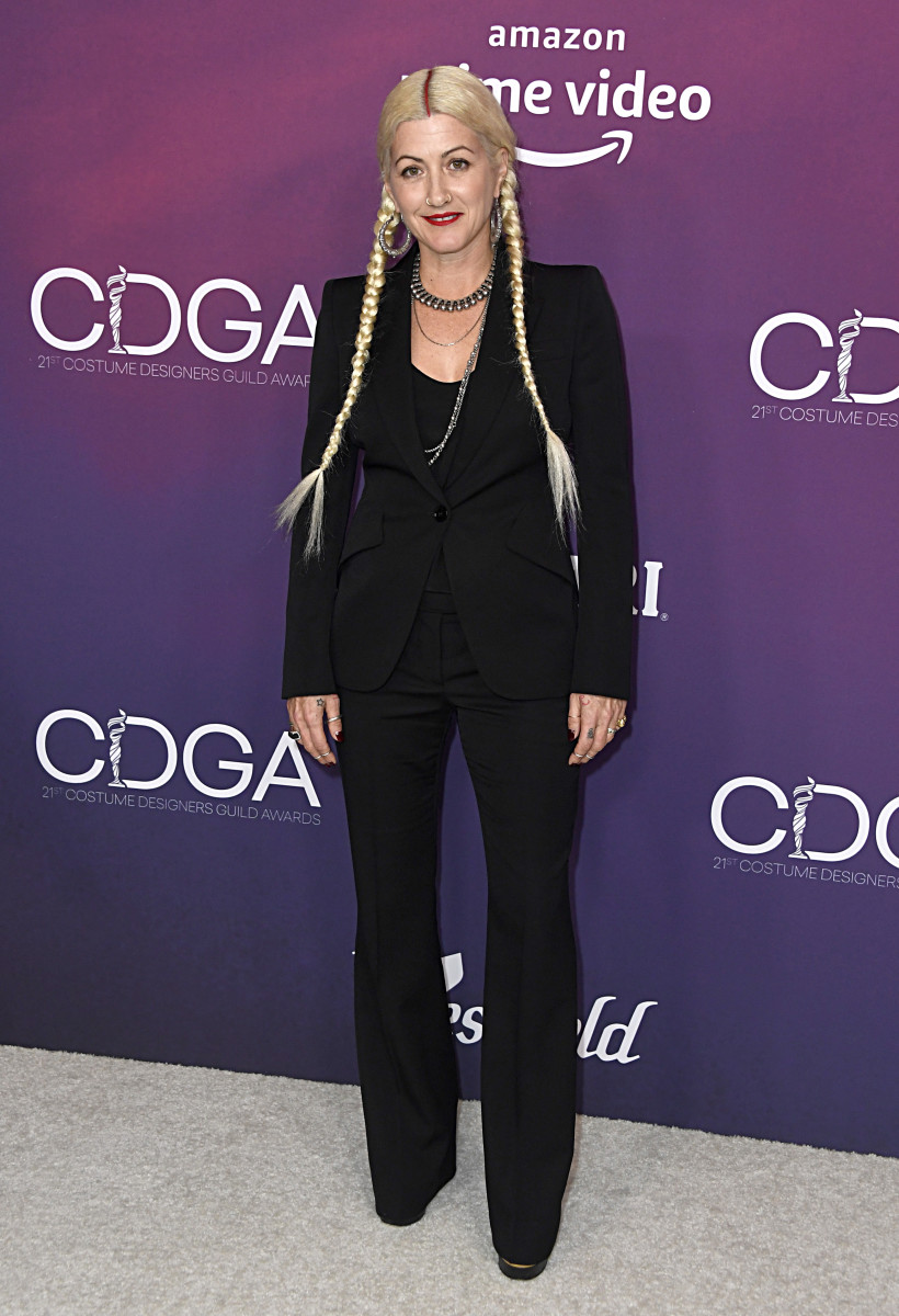 Trish Summerville at the 2019 Costume Designers Guild Awards.