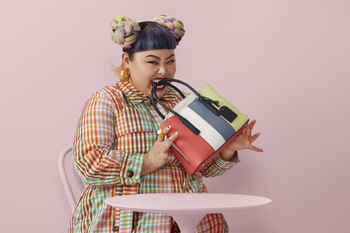 Naomi WatanabeforKate Spade New York Spring 2020.