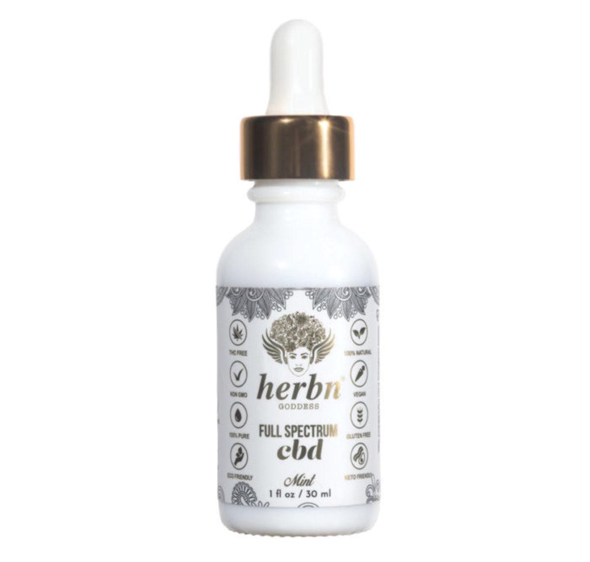 Herbn Goddess Full Spectrum CBD Oil, $129, available here.