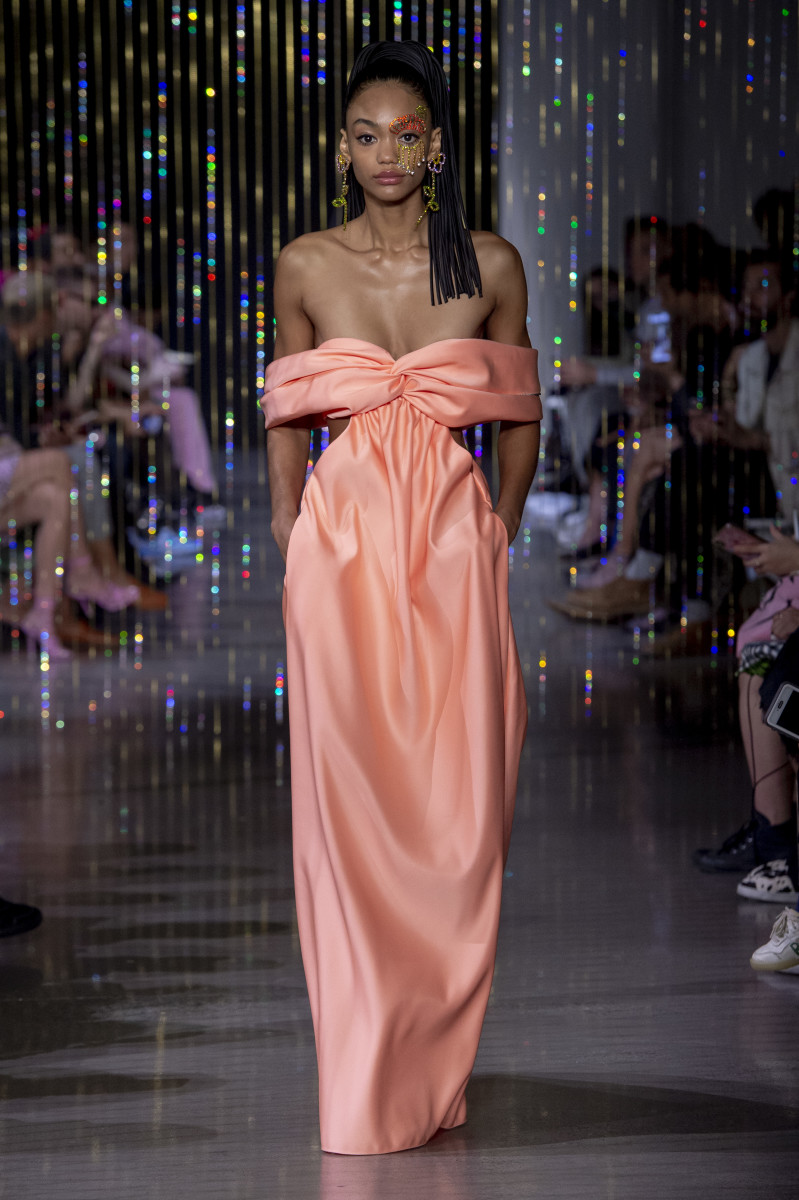 A look from Area's Spring 2020 show during New York Fashion Week.