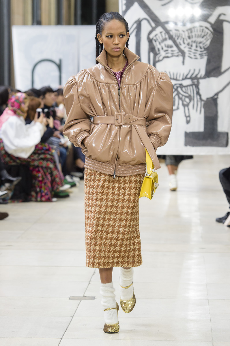 A look from Miu Miu's Fall 2018 collection.