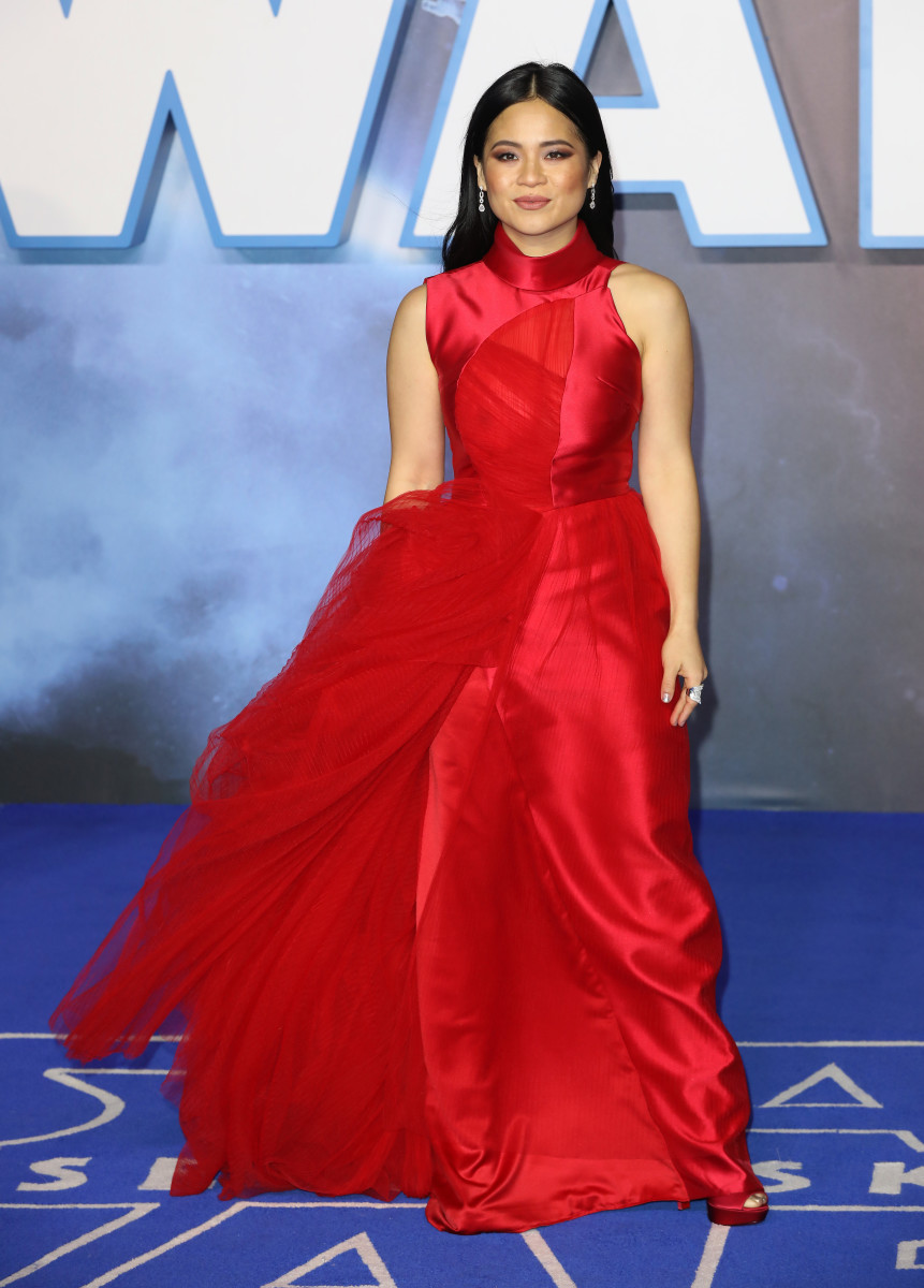 "Throughout her press tour for ""Star Wars: The Rise of Skywalker,"" Kelly Marie Tran put the spotlight on Asian designers, like Phuong My."