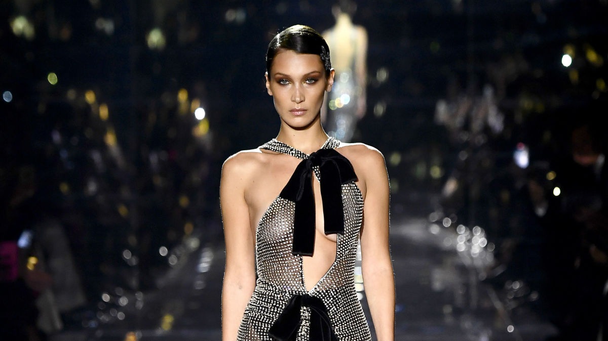 At Tom Ford, Celebrities, Hadids and Engaging Gowns Stole the Mumble. thumbnail