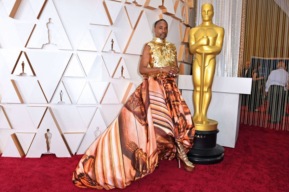 Billy Porter in Giles Deacon at the 92nd Oscars.