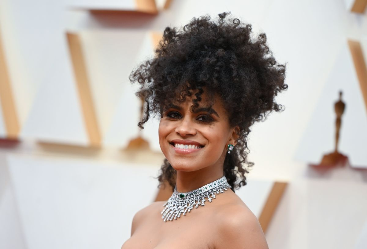 Zazie Beetz at the 92nd Annual Academy Awards.