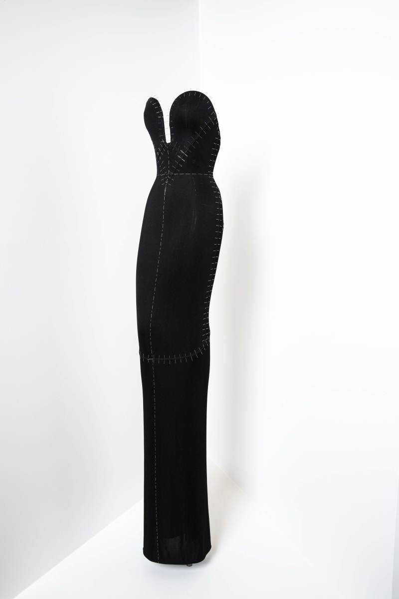 Sozzani's favorite dress, from the Azzedine Alaïa Summer 1988 collection.