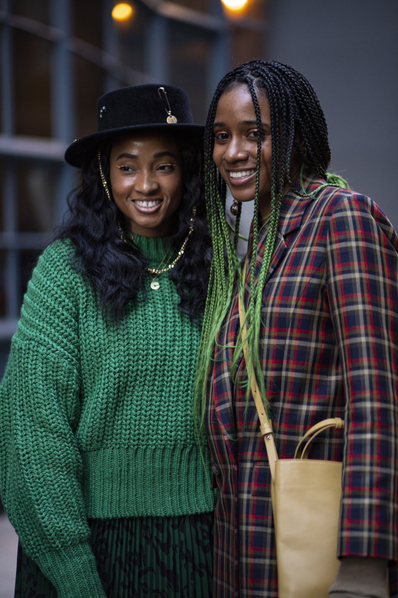 On the street at New York Fashion Week Fall 2020. Photo: Chiara Marina Grioni/Fashionista
