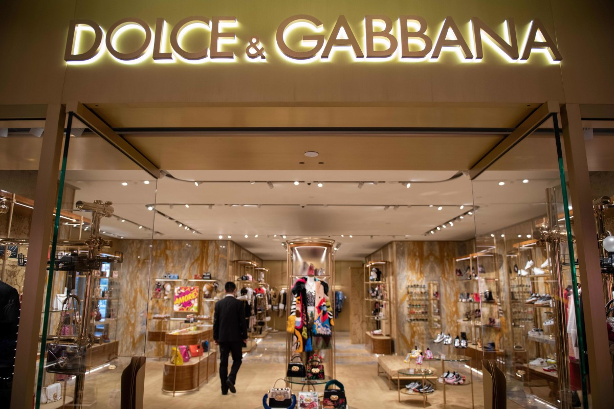 Dolce & Gabbana store in Beijing.