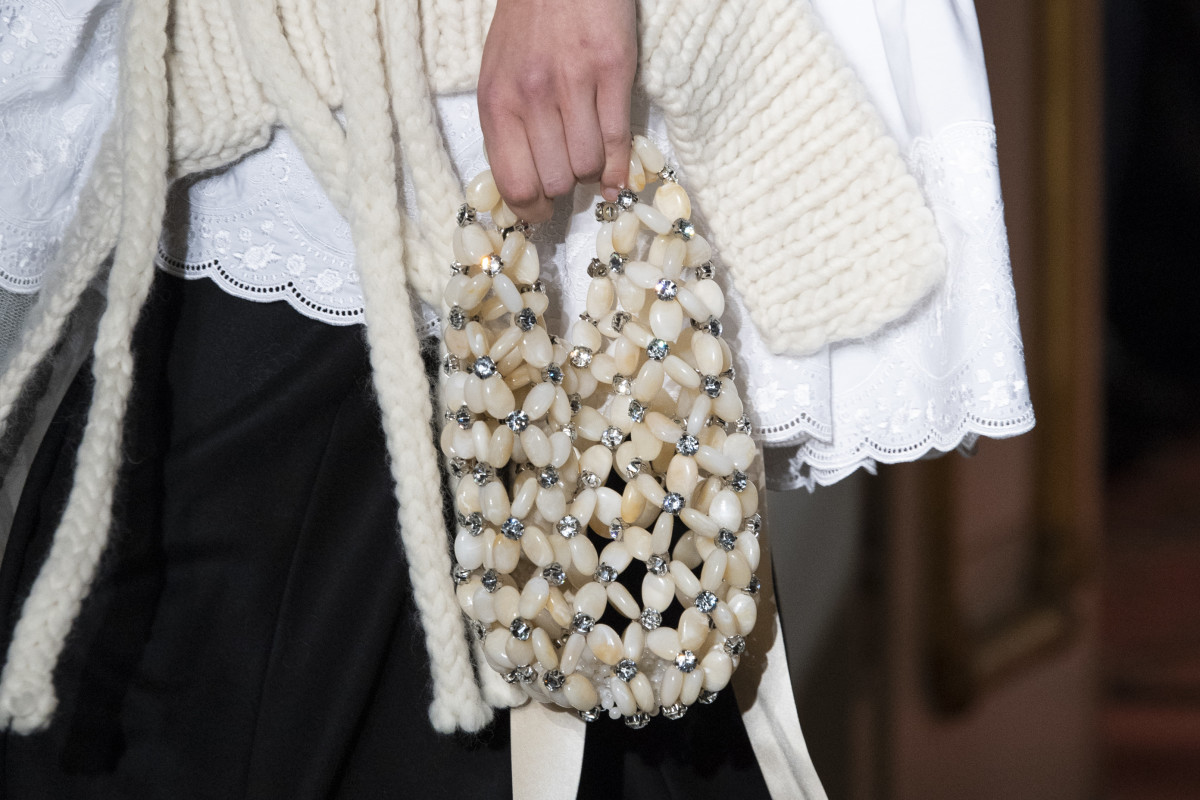 A bag from Simone Rocha's Fall 2020 collection.